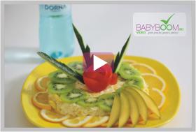 Salata de mango, cu telina si mar