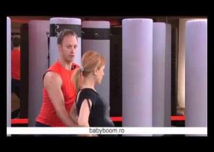 Exercitii pentru femei insarcinate – Exercitii tonifiere fesieri si coapse